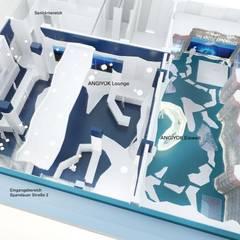 ANGIYOK Ice Bar Berlin - Lounge Übersicht :  Gastronomie von iDlabs Studio für Architektur + Design