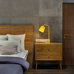 Open House: industrial Bedroom by Studio Nishita Kamdar