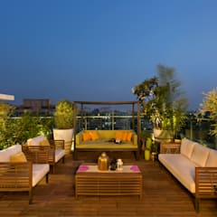 Terrace by Studio Nishita Kamdar,