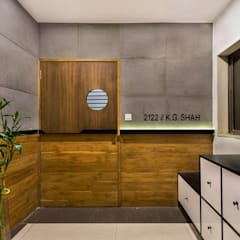 Projekty,  Drzwi zaprojektowane przez Studio Nishita Kamdar