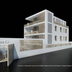 Wohnhaus - Mehrgenerationenwohnen - Berlin:  Mehrfamilienhaus von iDlabs Studio für Architektur + Design