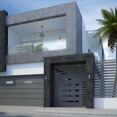 Single family home by Arq. Alejandro Garza