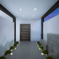 Corridor & hallway by Arq. Alejandro Garza