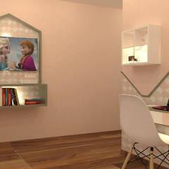 Espaço de leitura...: Quartos de rapariga  por Casactiva Interiores