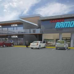 Locales Comerciales : Espacios comerciales de estilo  por Arq. Alejandro Garza