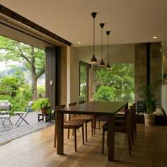 Comedores de estilo asiático por Sデザイン設計一級建築士事務所
