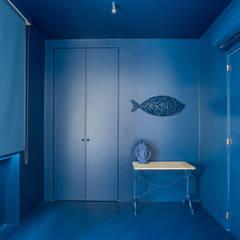 Dormitorios de estilo  por Giuseppe Iacono Architetto