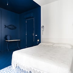 mediterranean Bedroom by Giuseppe Iacono Architetto