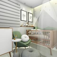 Baby room by Bonomiveras Arquitetura