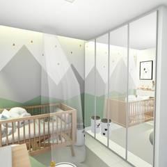 комнаты для новорожденных в . Автор – Bonomiveras Arquitetura