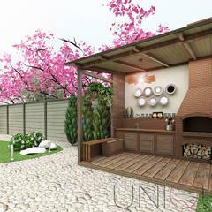 Дизайн террасы и хоз-домика: Сады в . Автор – ELENA_KULIK_DESIGN