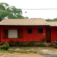 Casas unifamilares  por Oria Arquitetura & Construções
