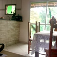 Ambiente interno: Salas de jantar  por Oria Arquitetura & Construções