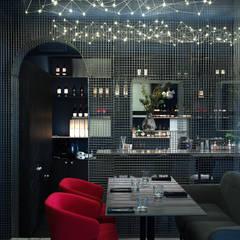 Too Chi Gastrobar: Bares y Clubs de estilo  por A-Z architects