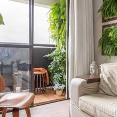 Jardines zen de estilo  por Marianne Ramos Paisagismo
