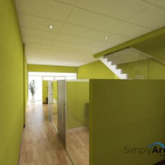 Office Project at Serpong - Tangerang:  Kantor & toko by Simply Arch.
