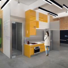 Ecowork spaces:  Offices & stores by Much Creative Communication Limited