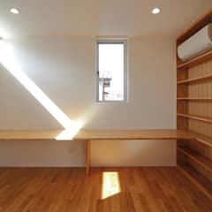 熊本の住宅: 株式会社YDS建築研究所が手掛けた書斎です。