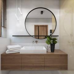 modern Bathroom by UTOO-Pracownia Architektury Wnętrz i Krajobrazu