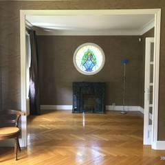 Maison BL01: Salon de style de style Classique par 3B Architecture