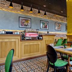 """Реализованный дизайн-проект кафе """"La Pasta"""": Ресторации в . Автор – Style Home"""