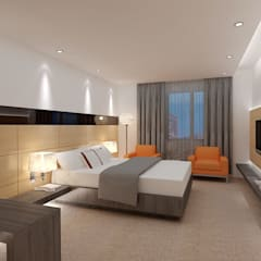modern Bedroom by Space Design Group Architects