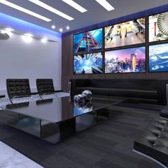 Lobby / Sala de espera: Pasillos y recibidores de estilo  por TAR ARQUITECTOS