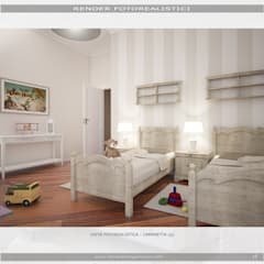 Boys Bedroom by MC Rendering Solution
