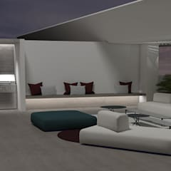 : Terrazas de estilo  por Design Group Latinamerica,