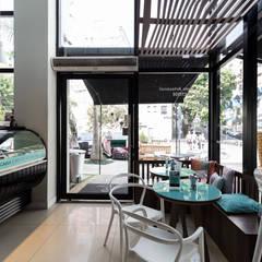Gelateria il Primo Gelato: Bares e clubes  por Okla Arquitetura