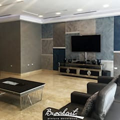 Dinding by Brochart pintura decorativa