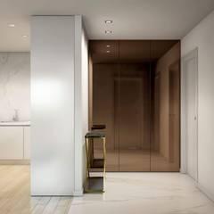 Hall de entrada : Corredores e halls de entrada  por Alma Braguesa Furniture