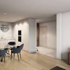 ครัวบิลท์อิน by Alma Braguesa Furniture