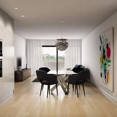 Sala de jantar: Salas de jantar  por Alma Braguesa Furniture