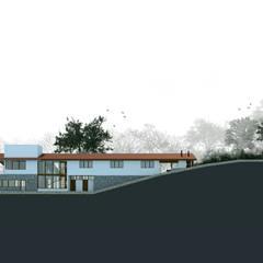 Villas de estilo  de Otoni Arquitetura