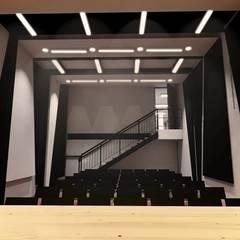 AUDITORIO: Salas de estilo  por Plano 13,