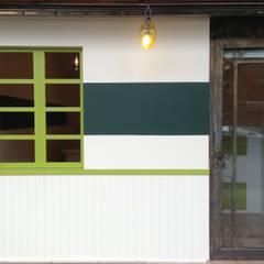 小清新門面:  餐廳 by 迷藏設計