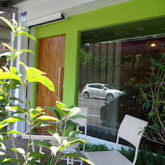 友善綠色友善蔬食:  餐廳 by 迷藏設計