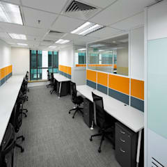 Office space planning and renovation:  Study/office by Atmosphere Axis Sdn Bhd