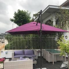 Akaydın şemsiye – ÜSKÜDAR YANDAN GÖVDELİ ŞEMSİYESİ:  tarz Bahçe havuzu