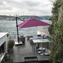 Akaydın şemsiye – ÜSKÜDAR YANDAN GÖVDELİ ŞEMSİYESİ:  tarz Havuz