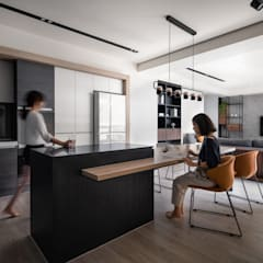 Dining room by 極簡室內設計 Simple Design Studio, Modern