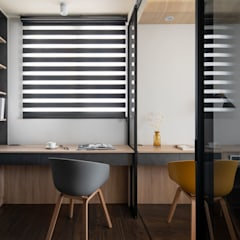 Closets de estilo  por 極簡室內設計 Simple Design Studio