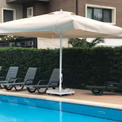Akaydın şemsiye – ÇEKMEKÖY İPLİ MODEL ŞEMSİYE:  tarz Bahçe havuzu