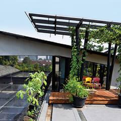 كوخ حديقة تنفيذ sigit.kusumawijaya | architect & urbandesigner