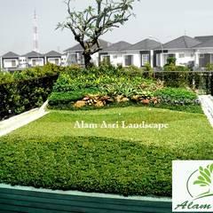 كوخ حديقة تنفيذ Tukang Taman Surabaya - Alam Asri Landscape