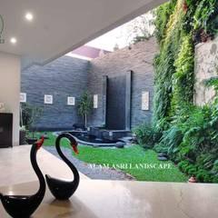 Tukang Taman Surabaya - Alam Asri Landscape:  tarz Bahçe süs havuzu