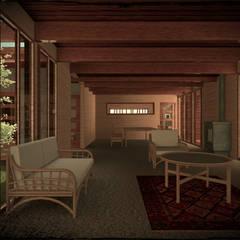 Сборные дома в . Автор – Vicente Espinoza M. - Arquitecto