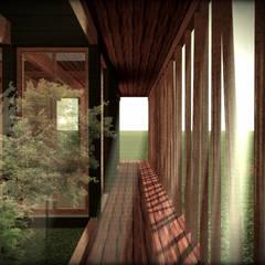 Prefab woning door Vicente Espinoza M. - Arquitecto