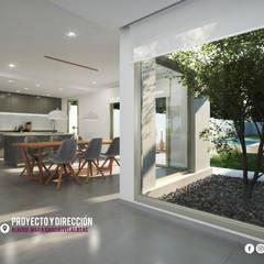 ALBERDI Comedores modernos de RUKA arquitectas Moderno